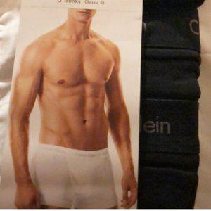 """Boxer briefs 3 mens new sz L waist 36-38"""" cotton"""